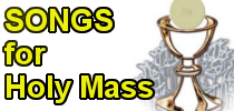 Holy Mass Songs